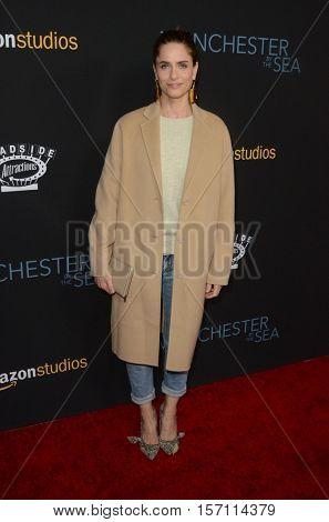 LOS ANGELES - NOV 14:  Amanda Peet at the