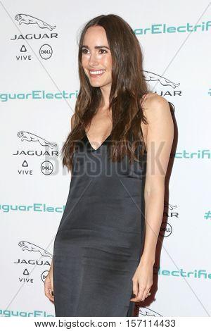 LOS ANGELES - NOV 14:  Louise Roe at the Unveiling Next Era Jaguar Vehicle at Milk Studios on November 14, 2016 in Los Angeles, CA