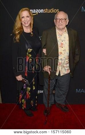 LOS ANGELES - NOV 14:  Guest, Edward Asner at the