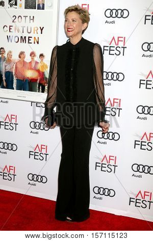 LOS ANGELES - NOV 16:  Annette Bening at the A Tribute To Annette Bening And Gala Screening of