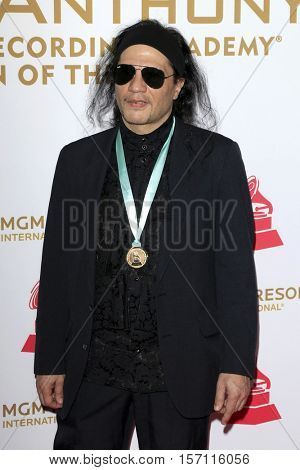 LAS VEGAS - NOV 16:  Fernando Otero at the 2016 Latin Recording Academy Person of the Year at MGM Grand Garden Arena on November 16, 2016 in Las Vegas, NV