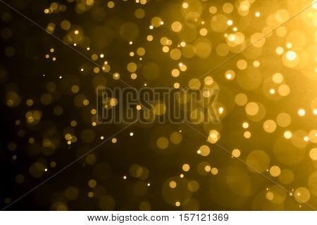Abstract Bokeh Background With Blur Style. It Looks Bright And Bokeh Glittering. You Can Apply For W