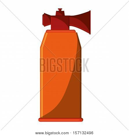 whistle icon. Sport hobby competition and game theme. Isolated design. Vector illustration