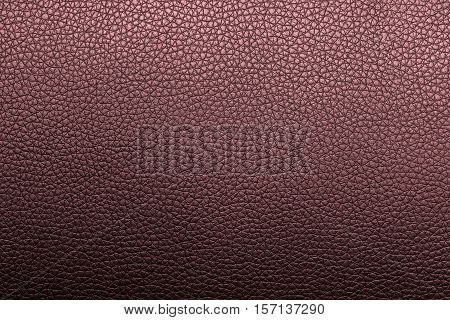 Red brown leather texture or leather background. Leather sheet for making leather bag leather jacket furniture and other. Abstract leather pattern for design with copy space for text or image.