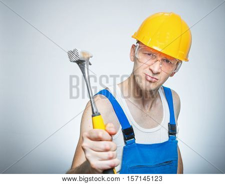 Funny Manual Worker