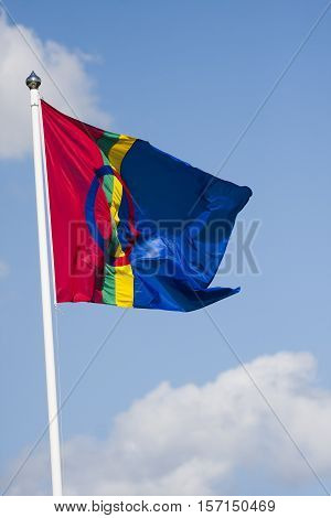 the flag of the same minority group