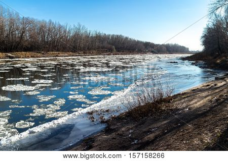 Freezing On The River
