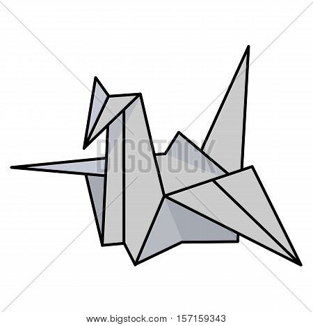 Vector Illustration Japanese Paper Cranes