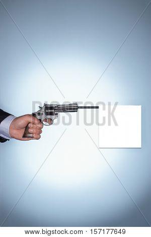 Blank Gunshot
