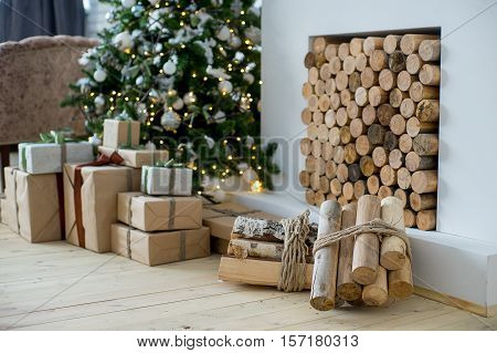 Christmas Interior Eco Style