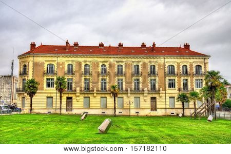 Building in Dax, a town in the Landes Department of France