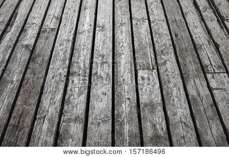 Natural Gray Wooden Floor. Background