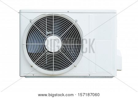 air conditioning compressor isolated on white background
