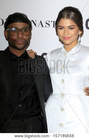 LOS ANGELES - NOV 14:  Law Roach, Zendaya Coleman at the Glamour Women Of The Year 2016 at NeueHouse Hollywood on November 14, 2016 in Los Angeles, CA