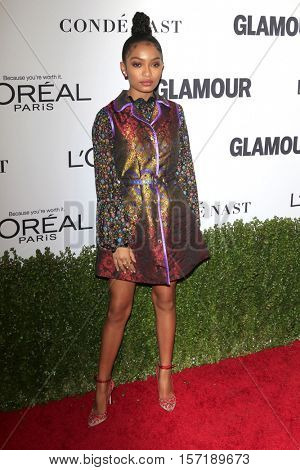 LOS ANGELES - NOV 14:  Yara Shahidi at the Glamour Women Of The Year 2016 at NeueHouse Hollywood on November 14, 2016 in Los Angeles, CA
