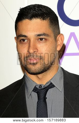 LOS ANGELES - NOV 15:  Wilmer Valderrama at the People's Choice Awards Nominations Press Conference at Paley Center For Media on November 15, 2016 in Beverly Hills, CA