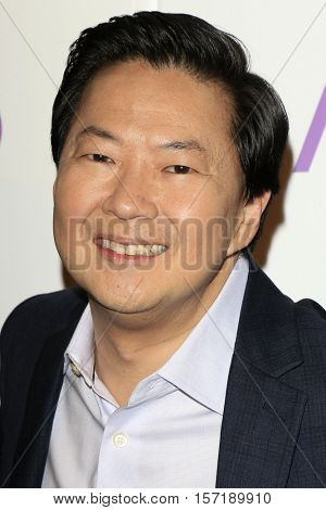 LOS ANGELES - NOV 15:  Ken Jeong at the People's Choice Awards Nominations Press Conference at Paley Center For Media on November 15, 2016 in Beverly Hills, CA
