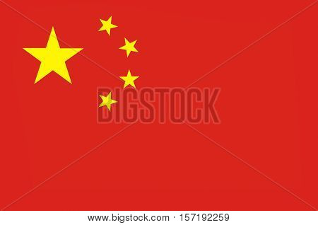 Flag of China officially the People's Republic of China (PRC) is a sovereign and unitary state in Asia.