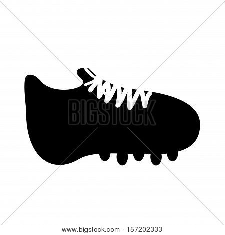 cleat or football boot icon image vector illustration design