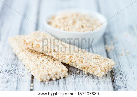 Homemade Quinoa Bars