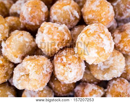Candy Akehgss, Thai dessert, Sweet taste, Deep fried thai been sorted moji poster