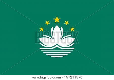 Flag of Macau also spelled Macao officially known as the Macau Special Administrative Region of the Peoples Republic of China
