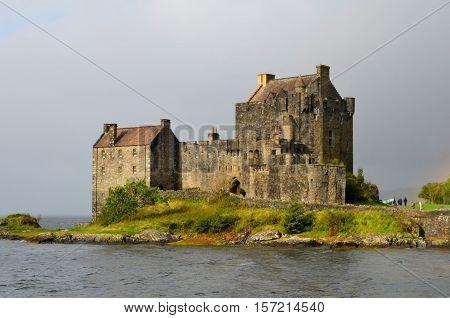 Amazingly historic Eilean Donan Castle the most photographed castle in Scotland.
