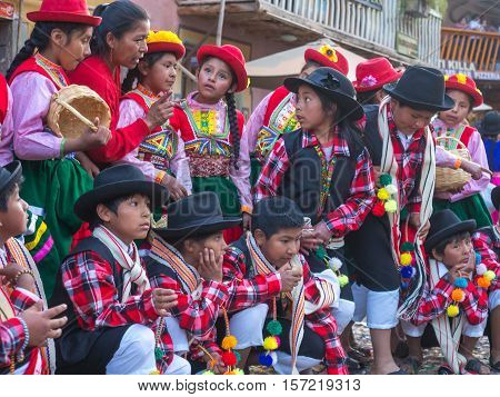 Kinds In Folk Costume