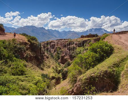 Andes Mountains Near Moray