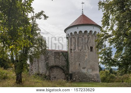 Watchtower And Medieval Ruins Of Kalc (kalec) Castle, Pivka, Slovenia