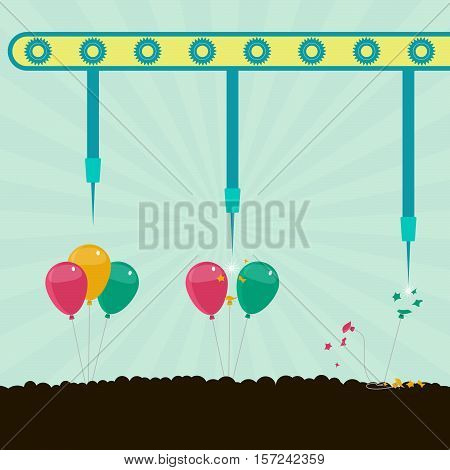 Machine Bursting Balloons
