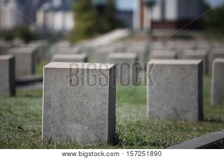 military cemetery empty gravestone monument to the unknown soldier
