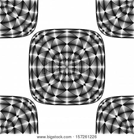 Design Seamless Illusion Pattern