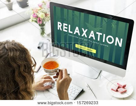 Nature Relaxation Tranquility Recreation Concept