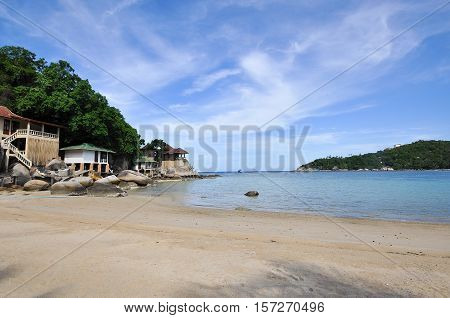 Koh Tao paradise tropical island in Thailand