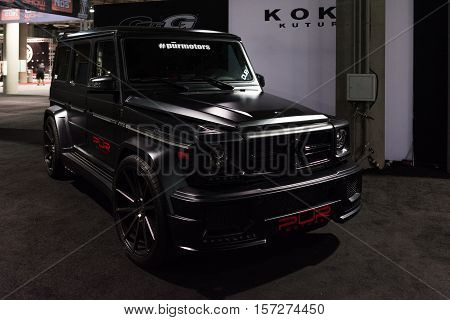 Customized Mercedes-benz G-class On Display