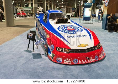 Chevrolet Camaro Ss Funny Car