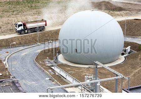 Natural Gas Tank Truck