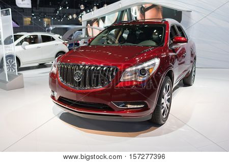 Buick Enclave.sport Utility Vehicle On Display