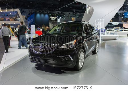 Buick Envision On Display