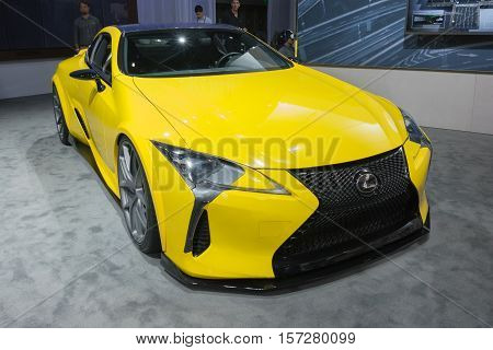 Lexus Lc500 On Display