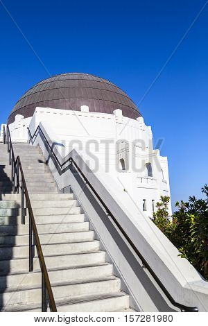 Observatory In Griffith Park