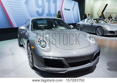 Porsche 911 On Display