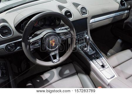 Porsche Inteior On Display