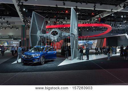 Nissan Star Wars Showroom