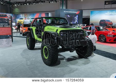 Jeep Trailcat On Display