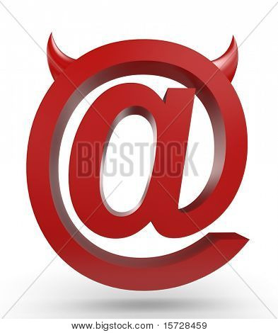 Unusual email sign