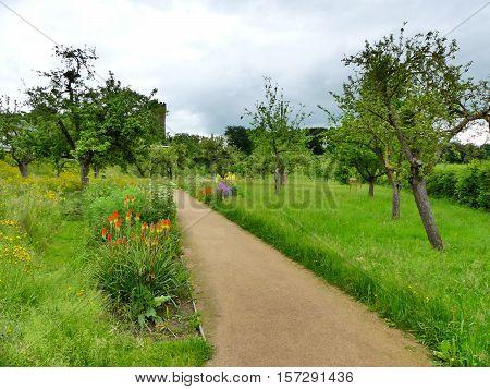 This is a wonderful public park in Zülpich.