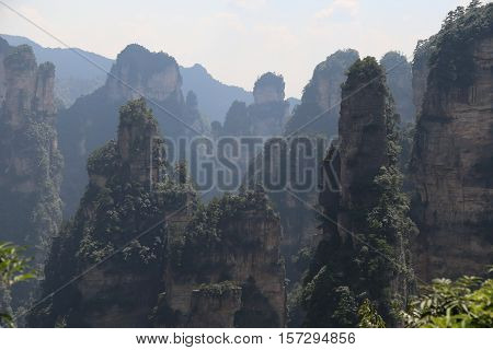 Zhang jia jie, Hunan, China - Beautiful Scenery