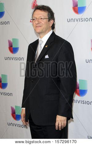 LAS VEGAS - NOV 17:  Gabriel Abaroa at the 17th Annual Latin Grammy Awards Press Room at T-Mobile Arena on November 17, 2016 in Las Vegas, NV